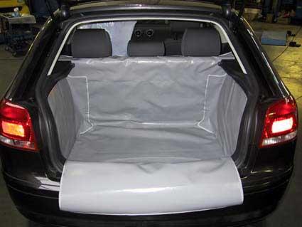 Salva baule Audi A3 telo bagaglio